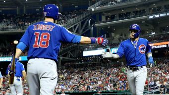 Cubs Score Comeback Win Over Nationals