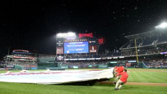 Cubs-Nationals Game Rained Out