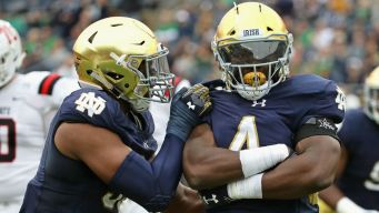 Notre Dame Hangs On For Win Over Ball State