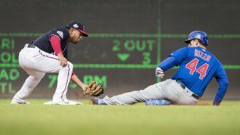 Baez Racks Up 3 RBI as Cubs Beat Nationals