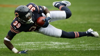 Jackson Injures Ankle in Bears' Win Over Packers