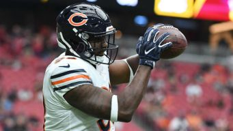 Dion Sims Remains Out of Bears' Practice