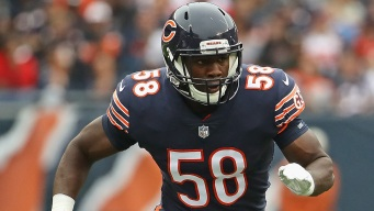 Roquan Smith Fined for Helmet-to-Helmet Hit