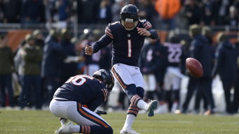 Bears Supporting Parkey After Tough Day Against Lions