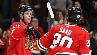 Blackhawks End 8-Game Slide With 6-3 Win Over Penguins