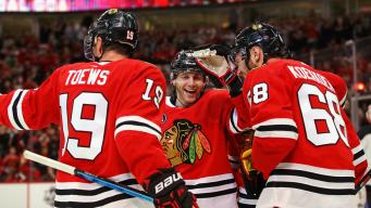 Kane Keeps Rolling, Leads Blackhawks Past Devils 5-2