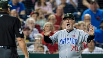 Maddon Protests Loss vs. Nats Over Doolittle's Delivery