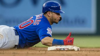 Javier Baez Injured, but Cubs Edge Nationals Sunday