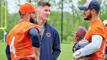 Trubisky, Bears' Offense Fight Through Inconsistency