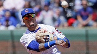 Baez Returns to Cubs' Lineup vs. Phillies