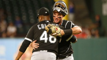 Collins Smacks Homer as White Sox Beat Rangers