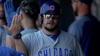 Hamels, Schwarber Lead Cubs to Blowout Win