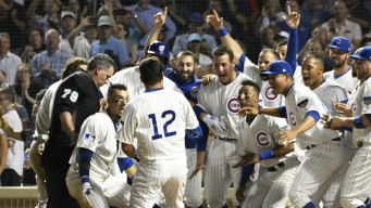 Schwarber's Homer in 10th Gives Cubs 4-3 Win Over Reds