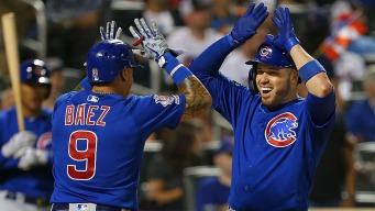 Caratini Home Runs Lead Cubs to Sweep of Mets