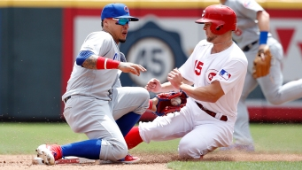 Kris Bryant Homer Lifts Cubs Over Reds