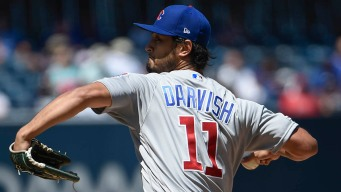 Darvish Fans 14 as Cubs Beat Padres to Split Series