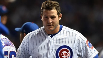 Rizzo Smacks Home Run in Return to Cubs' Lineup