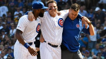 Rizzo Needs Walking Boot After Ankle Sprain, Team Says