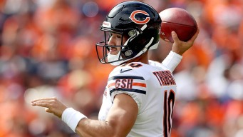 Trubisky Expected to Play for Bears vs. Saints