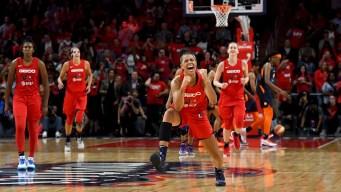 Mystics Celebrate Win of First WNBA Championship