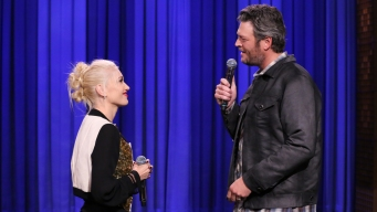 Shelton & Stefani Share the Love on 'The Voice'