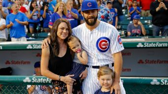 Jake Arrieta's Son Caught on Camera Making Incredible Throw
