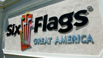 Six Flags Great America Closes for Flooding