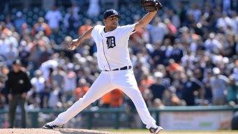Tigers Closer Rodriguez Says He Contracted Zika