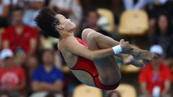 Women's Diving: Platform Gold for China's Ren Qian