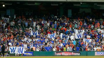 Cubs Release New 'Fly the W' Video After Team Clinches Title