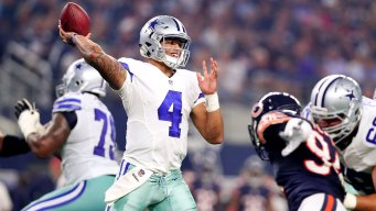 Sunday Night Football: Dallas Cowboys vs Chicago Bears