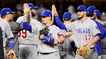 Cubs Set Game 6 Lineup vs. Dodgers