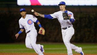 Baez to Start for Cubs After Scary Collision