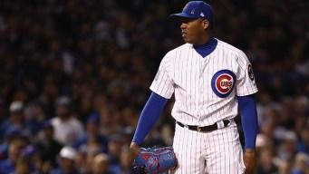 Cubs' Chapman, Yankees Reach Deal for $86M, 5 years: AP