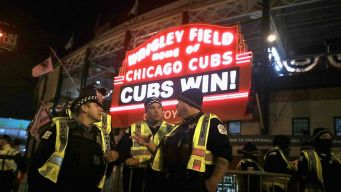 CPD Thanks Officers Who Helped Cubs Fans Celebrate