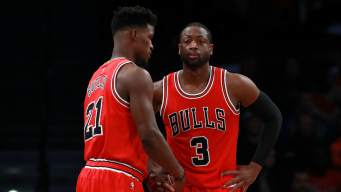 Butler, Wade Lead Bulls to Rout of 76ers, 105-89