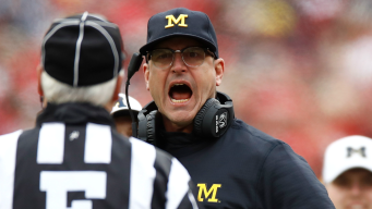 Big Ten Reprimands Harbaugh for Criticizing Officials