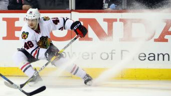 Hinostroza Recalled, Kero Sent Down by Blackhawks