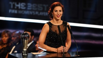 Carli Lloyd Wins FIFA Best Player Award