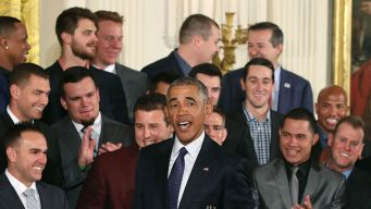 Obama Reveals One Thing He and David Ross Have in Common