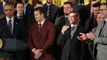 8 Top Moments From the Cubs' White House Visit
