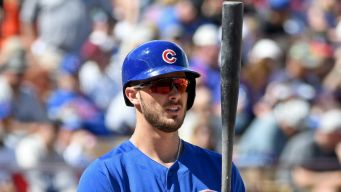 Bryant Out Again for Cubs