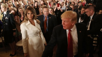 Trump Joins First Lady at Women's Empowerment Panel