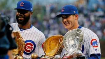 Rizzo, Zobrist Among Cubs' Gold Glove Nominees