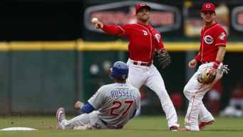 Late Rally Falls Short as Cubs Fall to Reds