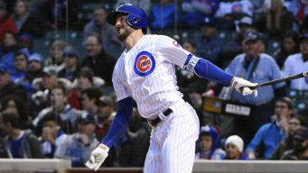 Kris Bryant Leaves Game After Ankle Injurey: Cubs