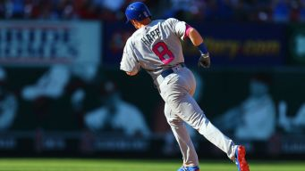 Happ Notches Memorable First Career Hit vs. Cardinals