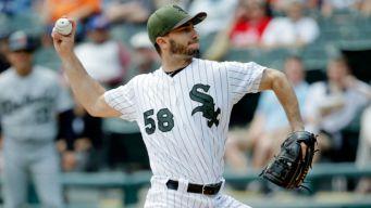 Gonzalez Misses Perfect Game, but Sox Beat Tigers