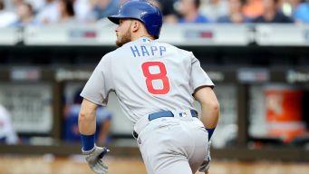Happ Hits Home Run on First Pitch of MLB Season
