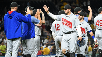 Rizzo, Cubs Rally for 6 Runs in 9th Inning, Beat Pirates 9-5